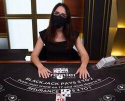 Les croupiers des casinos de France et des Clubs de jeux de Paris de retour a leur tables de jeux