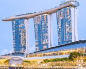 L'extension de l'Hotel-Casino Marina Bay Sands a Singapour prend du retard
