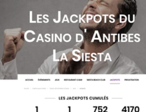Deux jackpots remportés en 24 heures au Casino La Siesta à Antibes