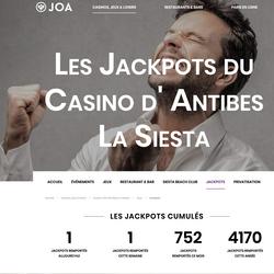 Deux jackpots au Casino La Siesta remportes en 24 heures