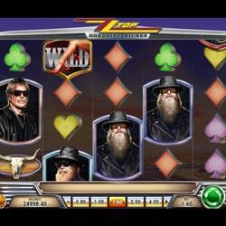 Machine à sous ZZ Top disponible en mode gratuit sur Cresus Casino