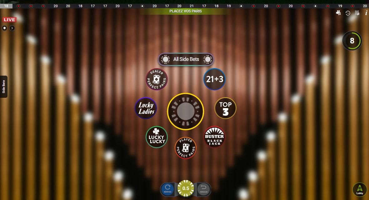 Multiplay Blackjack est la premiere table de blackjack en ligne d'Authentic Gaming