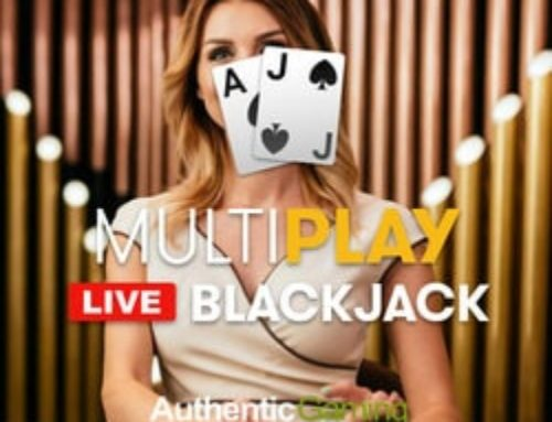 Le jeu de black jack en live MultiPlay Blackjack sort sur Dublinbet