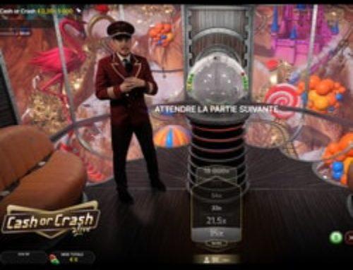 Cash or Crash d'Evolution arrive sur Cresus Casino